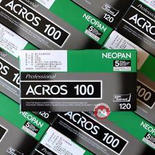 5 rolls Fuji Fujifilm NEOPAN 100 ACROS B&W Film 120 Diana Holga NEW
