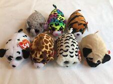 7 x TY Teenie Beanie Boos Plush Soft Stuffed Character Pet Job Lot Bundle