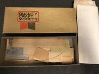 Vintage Quality Craft Models Kit #318 Canstock Box Car Unbuilt NOS