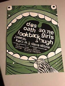 Some Girls Das Oath David Scott Stone 18x24 TOUR Poster Locust LCD Soundsystem
