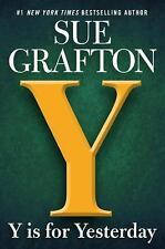 Y Is for Yesterday-Sue Grafton-2018 Kinsey Millhone novel-TRADE SIZED PAPERBACK