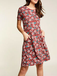 EX Fat Face Rose Ash Simone Posy Vine Dress in Sizes 8, 10, 12, 16 RRP £45