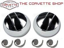 C3 Corvette Vent Deflector Balls & 4 Felt Seals Kit X35826