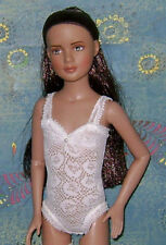 "Custom Ready 2 Wear White Lace Teddy Outfit Fits 12"" Tonner's Marley Wentworth"