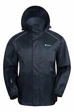 Mens Waterproof Rain Jacket - Packable