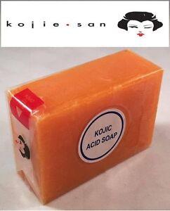 100% Authentic Kojie San Kojic Acid Skin Lightening Soap 135g UK SELLER
