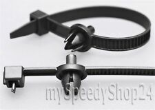 10x ALFA ROMEO Kabelbinder mit Clips Kabel Leitungen Elektrik Motorraum