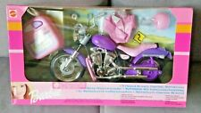 BARBIE MATTEL TETHERED REMOTE CONTROL MOTORCYCLE MOTORBIKE COLLECTORS 1999