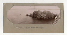 PHOTO ANCIENNE - DINAN Grottes Rochers Vers 1900 Bretagne Panoramique