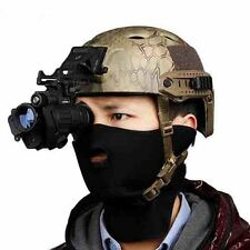 Black Hunting Infrared HD Digital IR Monocular Night Vision Telescope For Helmet