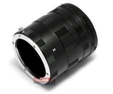 Macro Extension Tube Ring Set for Nikon AF AI DSLR D3100 D700 D300 D200 D90 D80