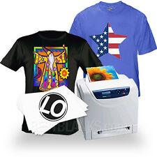 Laser Iron-On Heat Transfer Paper - For Darks (50) Neenah Laser 1 Opaque LO-8
