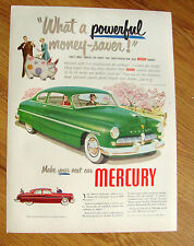 1949 Mercury Ad Power Money-Saver!