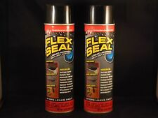 2 FLEX SEAL SPRAY RUBBER SEALANT COATING AS SEEN ON TV <FREE SHIPPING>