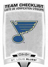 St. Louis Blues #575 - 2019-20 O-Pee-Chee - Base Team Checklist