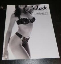 SEXY Aubade Lingerie Catalogue 2004 BUTT Fashion Model Thong Oct Nov Dec NUDE
