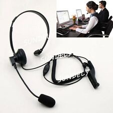 For Motorola  Over Head Headset Earpiece Mic XPR6550 XPR6580 XiRP8200 XiRP8208