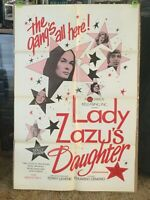 LADY ZAZU'S DAUGHTER, ORIGINAL ADULT POSTER, TINA RUSSEL, DOLLY SHARP