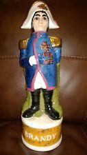 Old Vintage Napoleon Bonaparte Porcelain Figurine -Brandy Bottle Signed IG ,1975