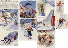 Elk Eber Ski Langlauf Telemark Garmisch-Partenkirchen Wintersport Olympia 1936!!