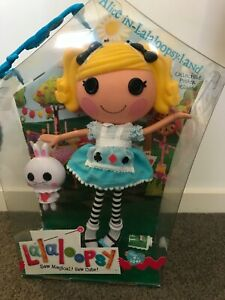 ALICE IN LALALOOPSY WORLD BRAND NEW Large Doll