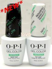 OPI GelColor Nail PRO HEALTH Base Coat & Top Coat Soak Off 15ml/0.5fl.oz