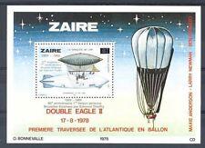 Zaire - BL59 - Bloc 59 - Aviation - Sabena - 1985 - MNH