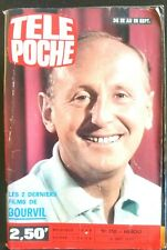 Télé poche 19/09/1979; Bourvil/  Roman-Photo avec Dominique Valera