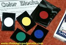 Color Blocks divination -- ingenious fooler for closeup clairvoyance        TMGS