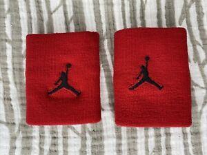 Air Jordan Wrist Cuffs Red Wristband