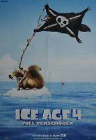 ICE AGE 4 - A1 Poster (XXL - 80 x 55 cm) - Film Plakat Clippings Sammlung NEU