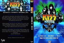 DVD  LIVE KISS KRUISE 3       4  DVD    rock metal
