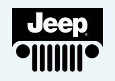 Jeep Wrangler Grill CJ YJ TJ JK Sahara Rubicon Sport X decal Sticker