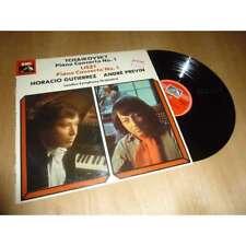 HORACIO GUTIERREZ piano concerto n°1 TCHAIKOVSKY & LISZT HMV QUADRA lp 1976