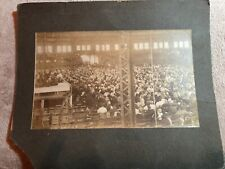 Large Cabinet Card 10x12 Annual Conference Demoine Iowa Arena Fairgrounds