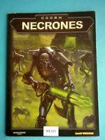 Warhammer 40K - Codex Necrones - WK25