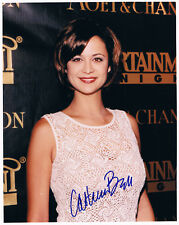 """Catherine Bell 1968- genuine autograph signed 8""""x10"""" photo JAG Army Wives"""