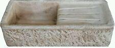 lavabo lavello lavandino in cemento pietra marmo giardino rustico  gocciolatoio