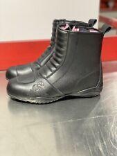 Womens Leather Motorcycle Boot Joe Rocket Trixie Black 8
