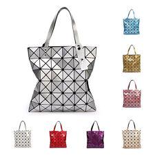 Sequin Laser Japan Style Women Handbag Lingge Geometric Pacthwork Diamond Bags