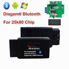 Diagmall Super Mini ELM327 Bluetooth OBD2V1.5 25K80Chip Android Diagnostion Tool