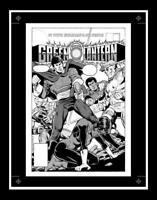 DC Comics GREEN LANTERN #189 Rare Production Art Cover Joe Staton Jon Stewart