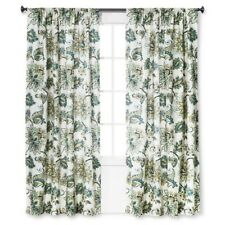 Homthreads Target Greyson Floral Window Panels (Pair)   Soft White Green Blue