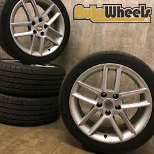 17 Genuine Seat exeo alloy wheels & tyres VW Golf Caddy Leon skoda