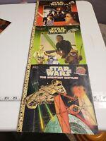 Vintage Star wars golden book Set With 3d Glasses