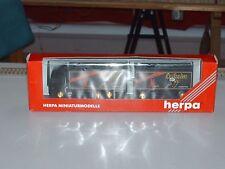 """Herpa-HO Modell LKW MB A-L BierKo-Hzg """"Leikeim"""" 147378 Neu mit OVP+Zurüstteile"""