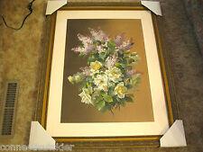 Raoul M De Longpre Famed French Still Life Artist,Gouache,Spanierman, Doyle