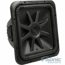 "KICKER L7S152 2000W 15"" Solo-Baric Dual 2-Ohm Car Subwoofer Sub Woofer"