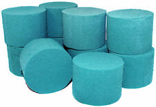 10x Ideal Floral Foam Wet Round or Cylinder Oasis