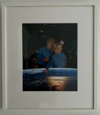 JOE WEBB CREATORS II ORIGINAL COLLAGE SIGNED & FRAMED with SAATCHI GALLERY COA